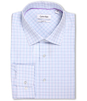 Calvin Klein - Regular Fit Multicolor Mini Plaid Dress Shirt