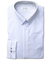 Calvin Klein - Non-Iron Slim Fit Microstripe Dress Shirt