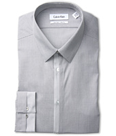 Calvin Klein - Non-Iron Slim Fit Pieced Stripe and Plaid Dress Shirt