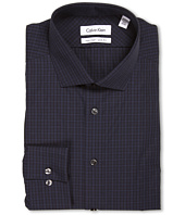 Calvin Klein - Non-Iron Slim Fit Basketweave Plaid Dress Shirt