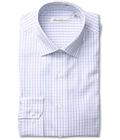 Kenneth Cole New York - Non-Iron Slim Fit Windowpane Plaid Dress Shirt
