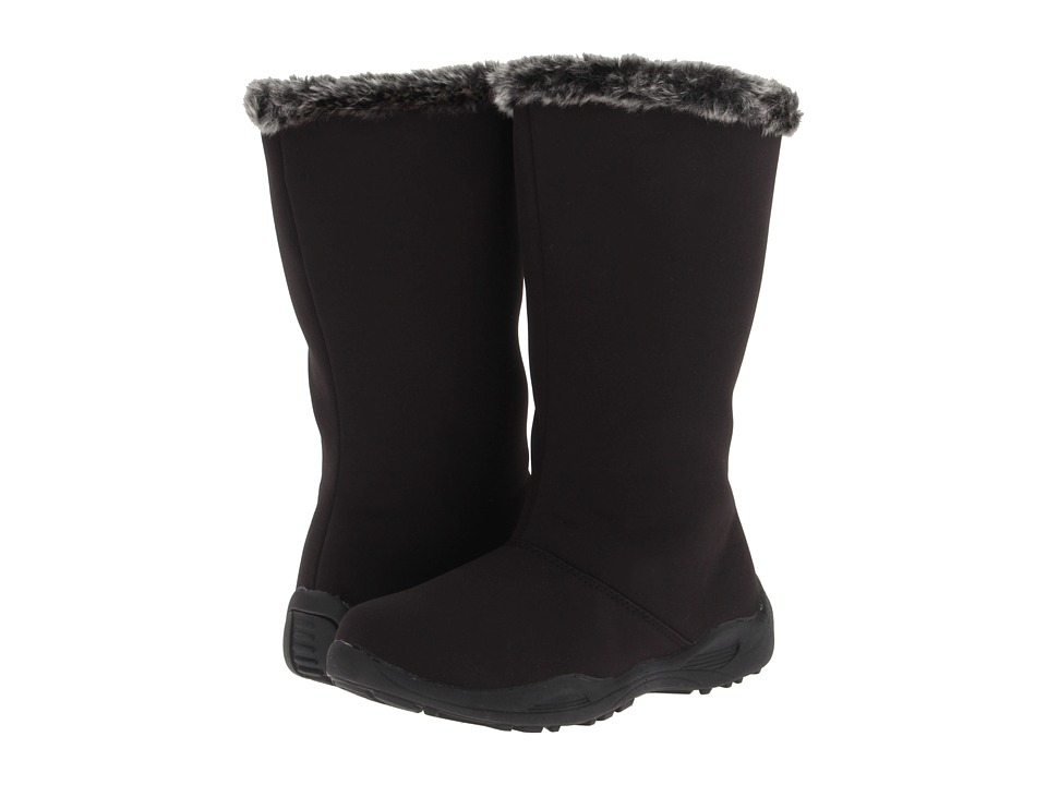 Propet - Madison Tall Zip (Black) Womens Cold Weather Boots