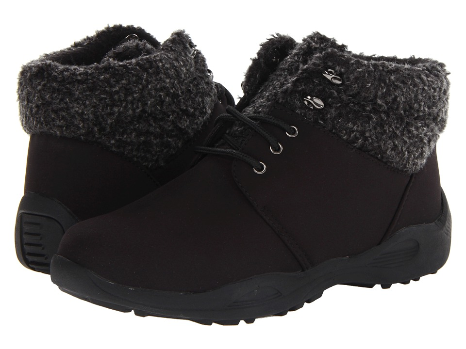 Propet - Madison Ankle Lace (Black) Women's Cold Weather Boots
