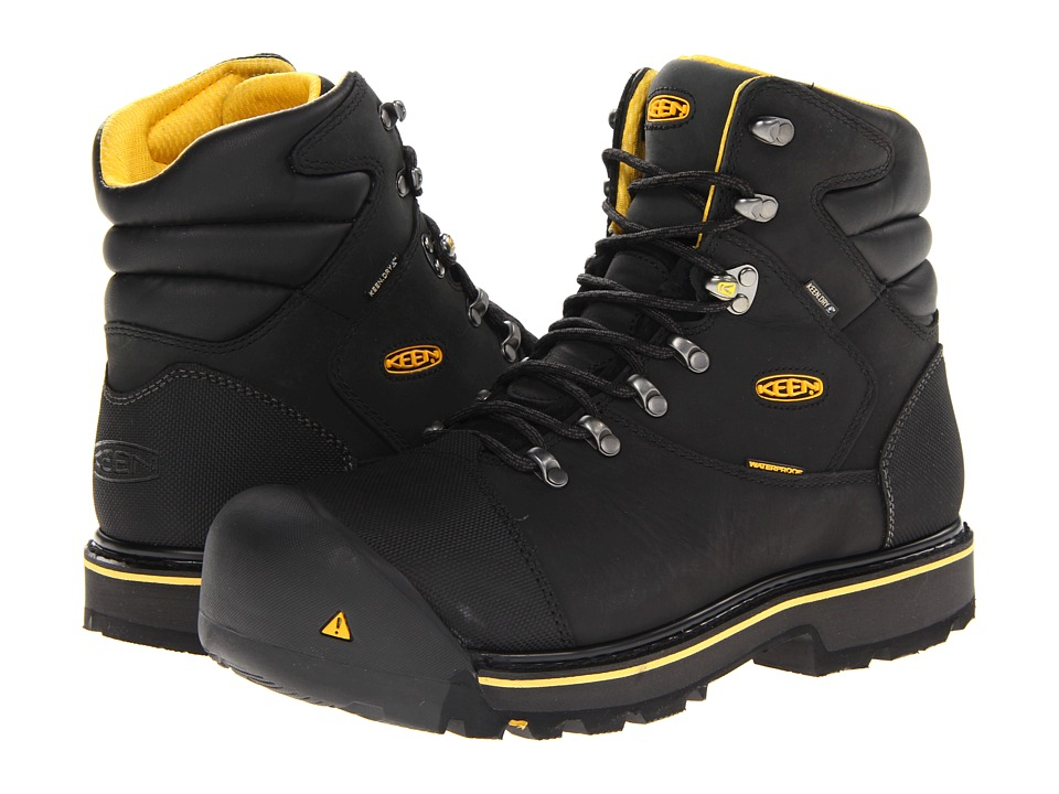 Keen Utility Milwaukee WP (Black) Men