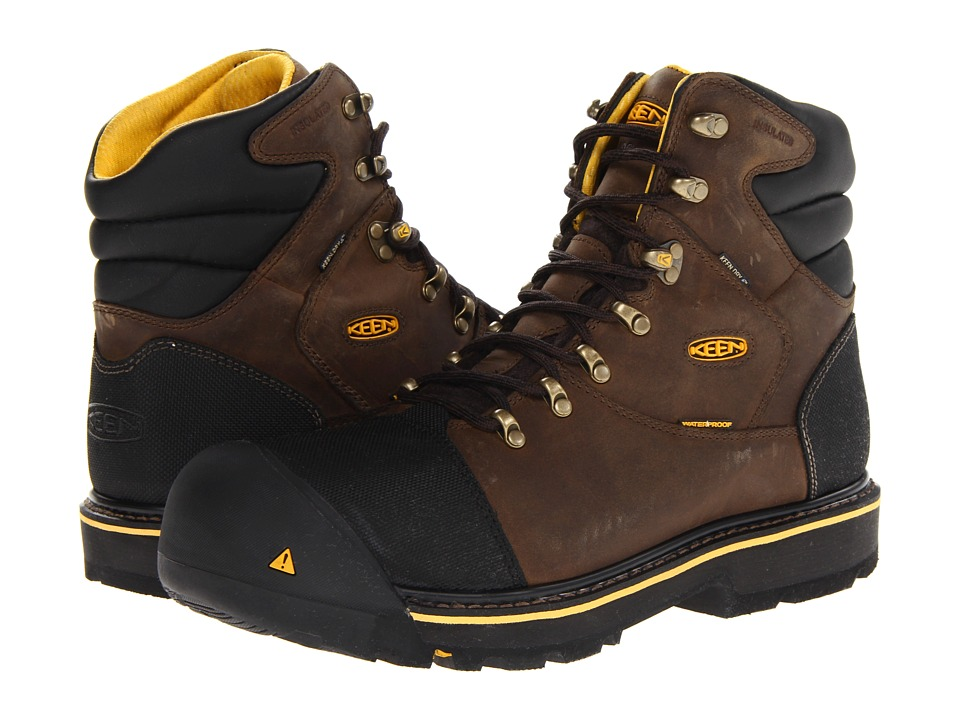 Keen Utility - Milwaukee WP Insulated Steel Toe (Black Olive) Men