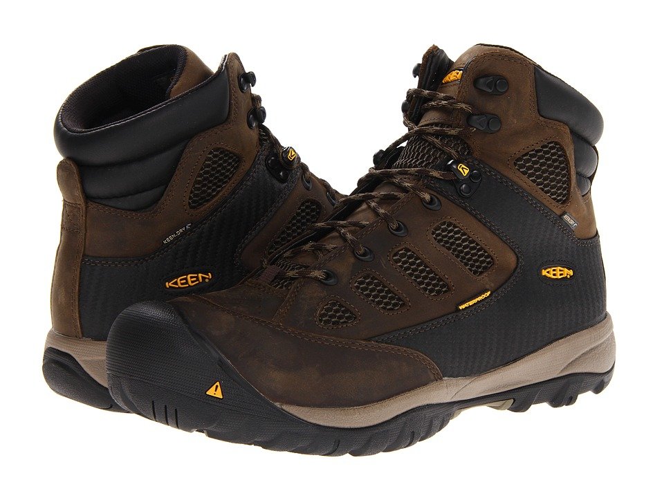 Keen Utility Tucson Mid (Black Olive/Burnt Olive) Men
