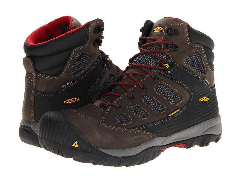 Keen Utility Tucson Mid (Magnet/Chili Pepper) Men
