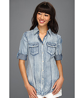 JHaus - Chambray Button-Up Top
