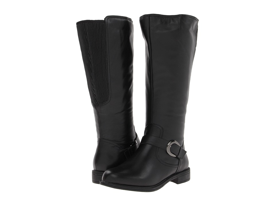 David Tate - Branson - Extra Wide Shaft (Black) Womens Boots