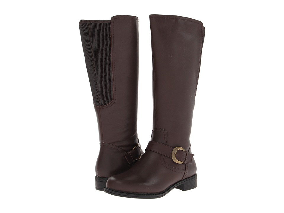 David Tate Branson - Extra Wide Shaft (Brown) Women's Boots