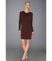 Tommy Bahama - Tambour Long Sleeve Cowl Dress