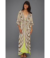 Echo Design - Swirling Stripes Long Double V Coverup