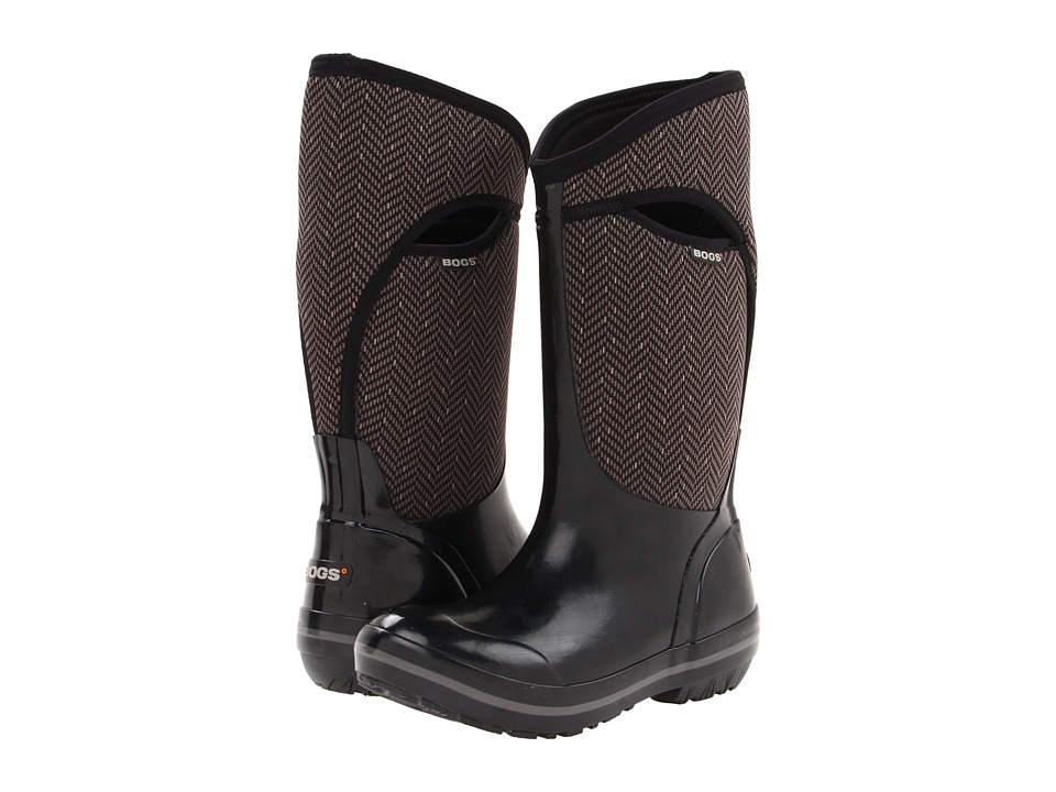 Bogs - Herringbone Tall (Black) Women