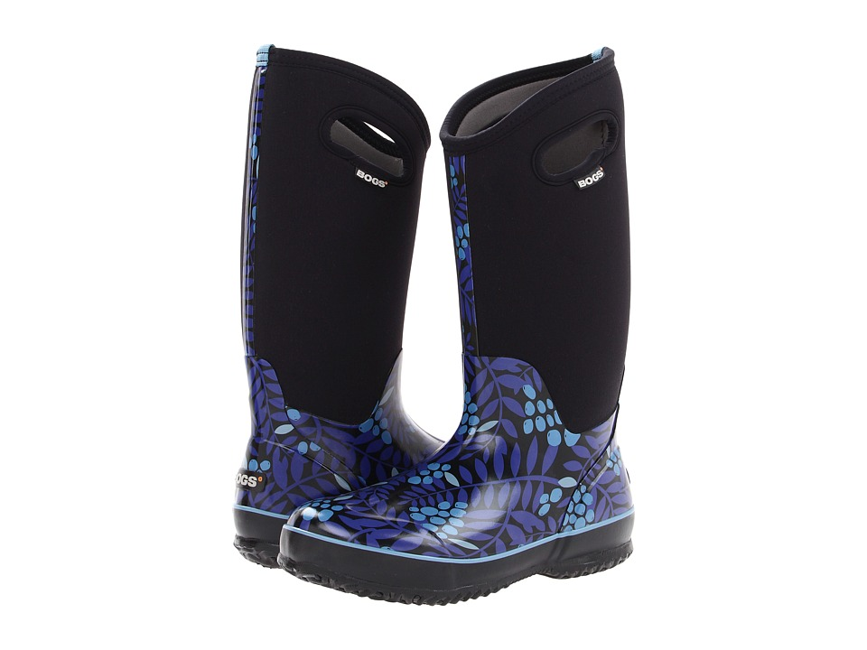 Bogs Winterberry Classic (Blue Multi) Women