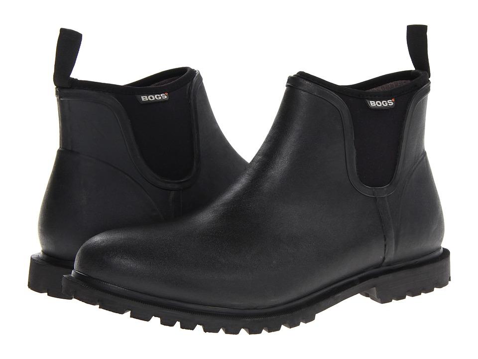 Bogs Carson (Black) Men's Waterproof Boots
