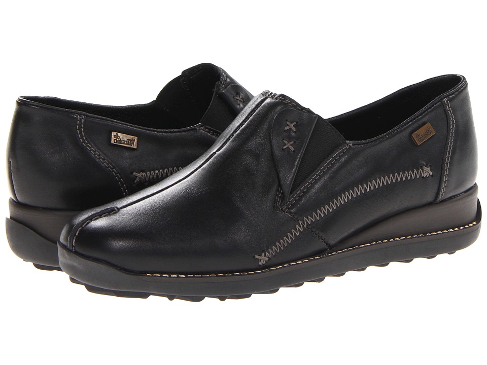 Rieker 44253 Doro 53 Black Womens Slip on Shoes
