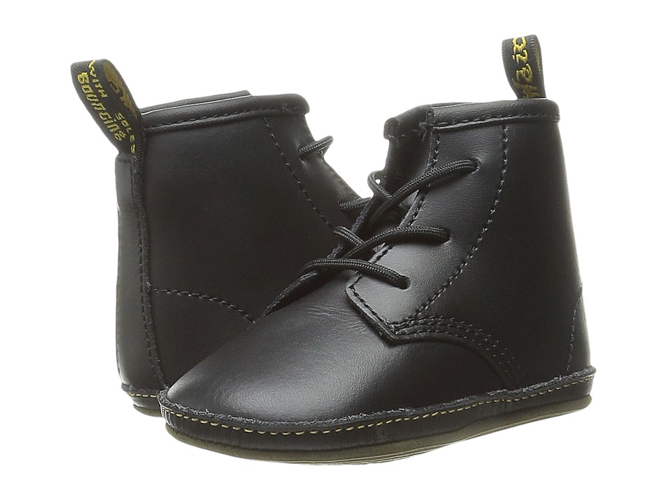 Dr. Martens Kids Collection - Auburn Lace Bootie (Infant/Toddler) (Black Kids Lamper) Kids Shoes