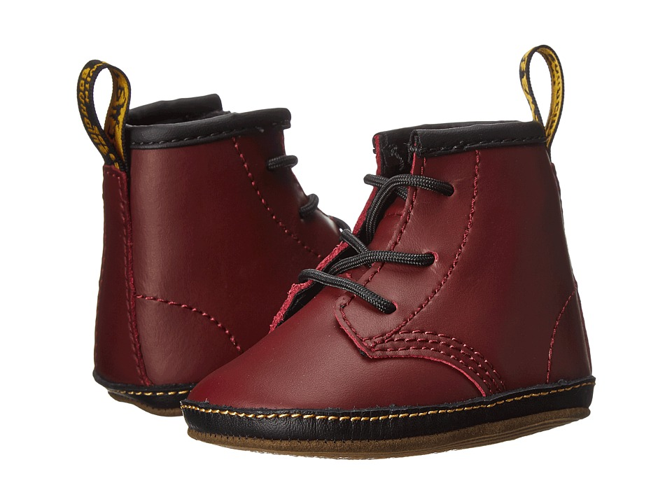 Dr. Martens Kids Collection Auburn Lace Bootie Infant/Toddler Cherry Red Kids Lamper Kids Shoes