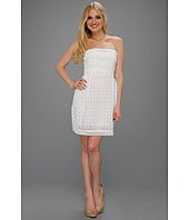 Laundry by Shelli Segal - Strapless Eyelet Dress