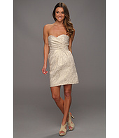 Laundry by Shelli Segal - Strapless Foiled Jacquard Dress