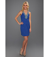 Laundry by Shelli Segal - Beaded Jacquard Dress