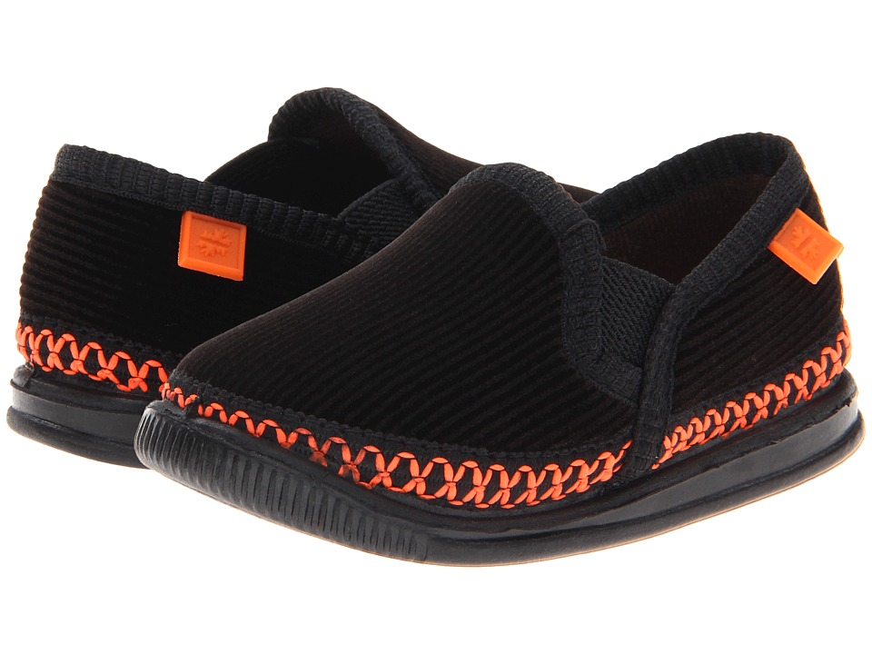 Foamtreads Kids Innsbruck (Toddler/Little Kid/Big Kid) (Black/Orange) Kids Shoes