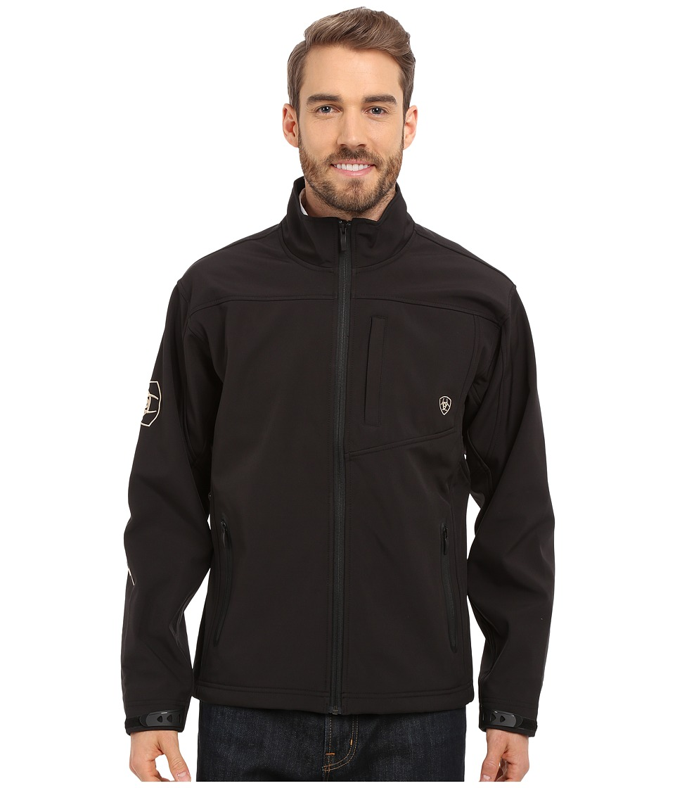 Ariat Team Softshell Jacket (Black) Men