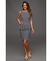 Laundry by Shelli Segal - Sleeveless Stripe Peplum Dress