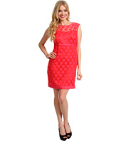 Laundry by Shelli Segal - Dot Lace A-line Dress