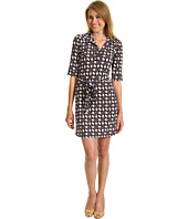 Laundry by Shelli Segal - Chain Link Matte Jersey Shirt Dress