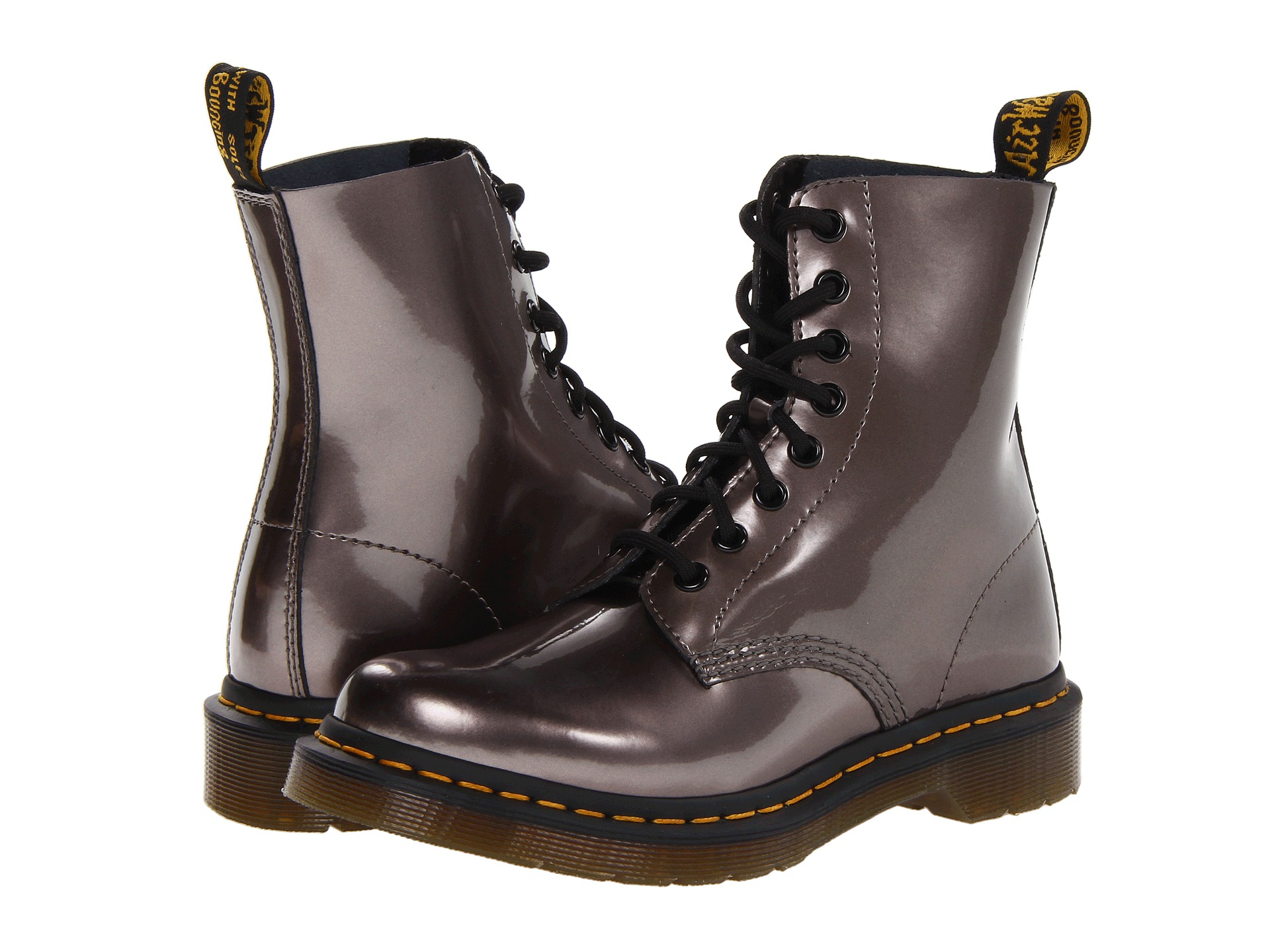 dr martens pascal 8 eye boot w shipped free at zappos. Black Bedroom Furniture Sets. Home Design Ideas
