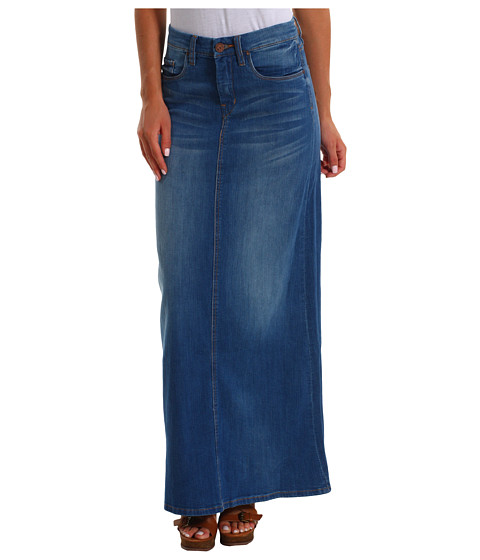 Tznua Fashionista: Denim Maxi Skirts