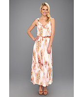 Calvin Klein - Printed Maxi Dress W/ Hardware
