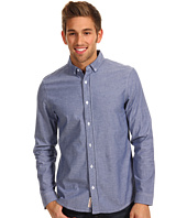 Original Penguin - L/S Basic Oxford w/ Gingham Trim