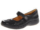 Clarks - Un.Linda (Black Leather) - Clarks Shoes