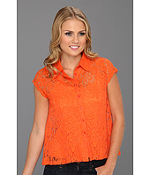 Christin Michaels - Talsie A-line Lace Shirt