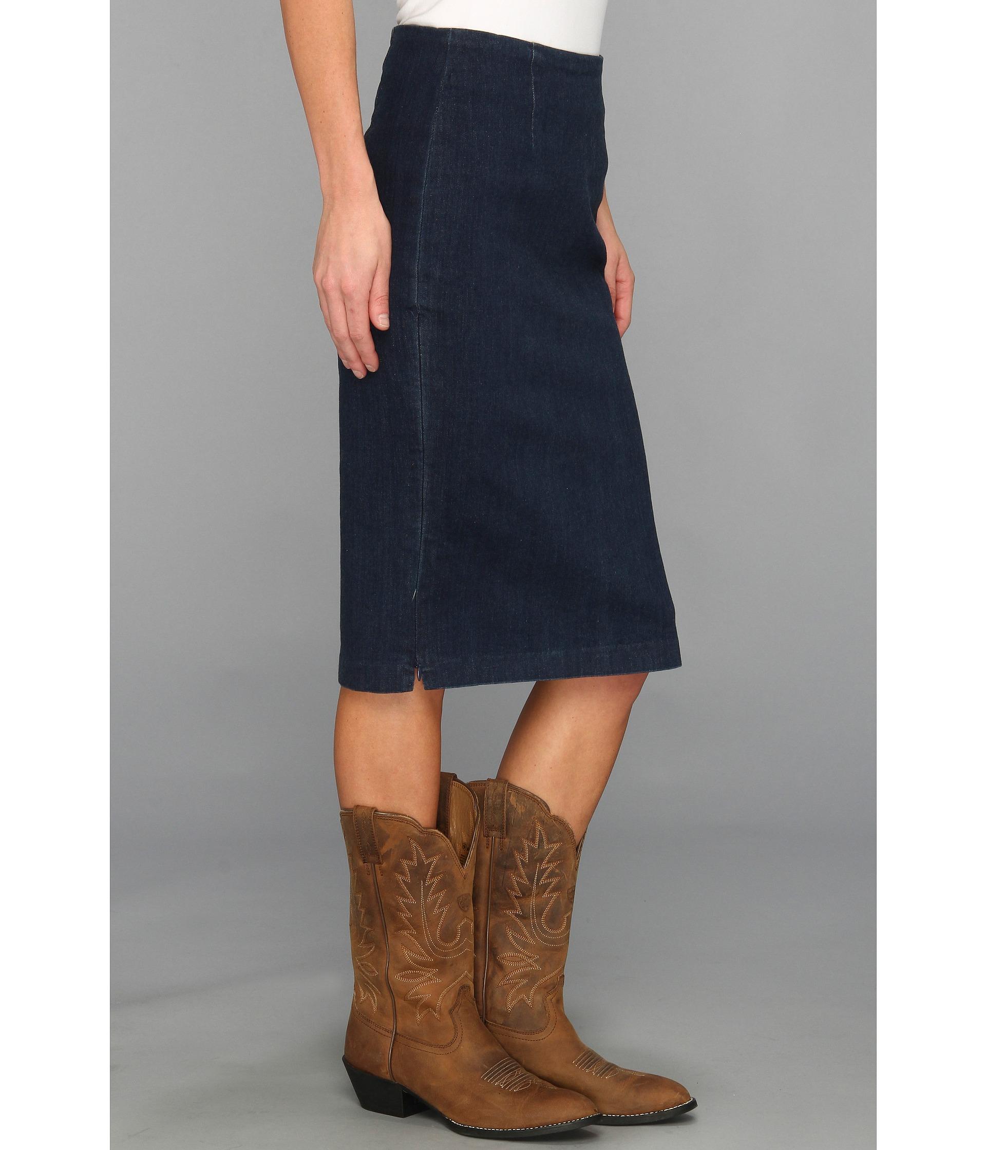 stetson 8829 stretch denim skirt clothing