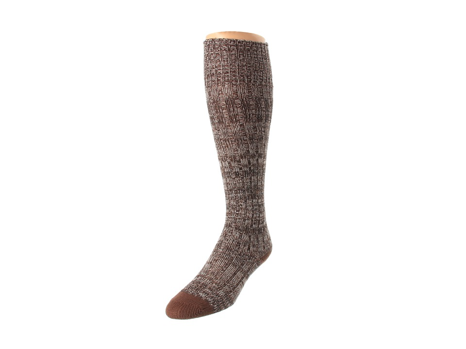 Ariat - Above Knee Comfy Socks (Brown) Women