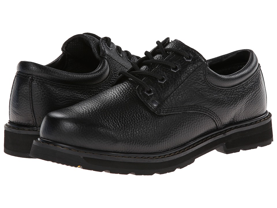 Dr. Scholls Harrington Black Luxury Leather Mens Lace up casual Shoes