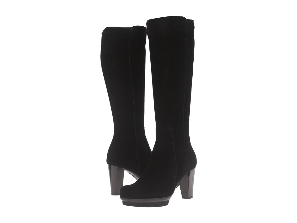La Canadienne - Massie (Black Suede) Women