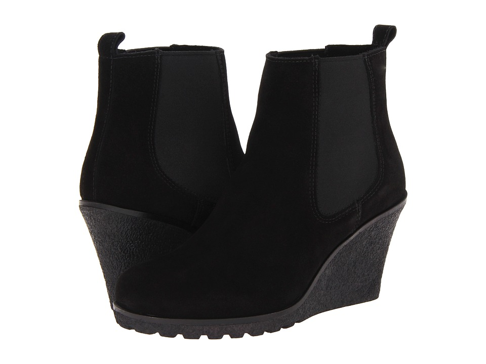 La Canadienne - Kelsey (Black Suede) Women