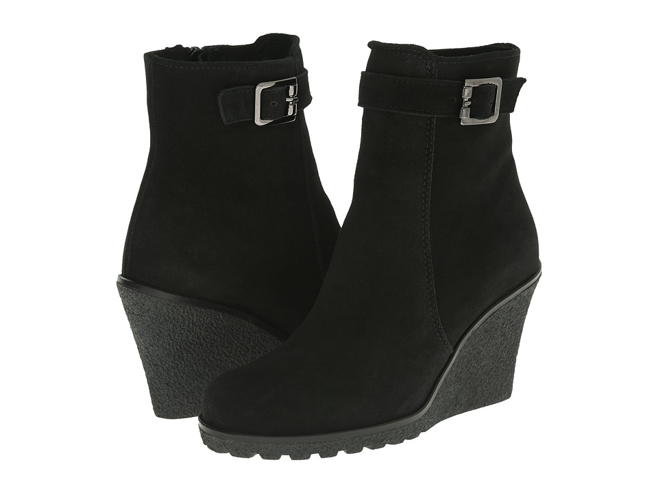 La Canadienne - Kimmy (Black Suede) Women