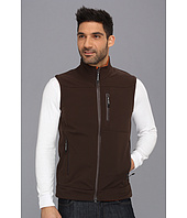 Roper - CHOC BR w/ OR Fleece Vest