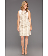 Calvin Klein - Plus Size Graphic Snake Seamed Shift Dress
