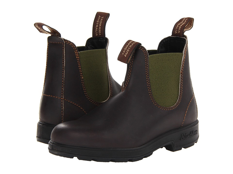 Blundstone - BL519 (Stout Brown/Olive) Boots