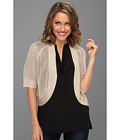Calvin Klein - Circle Shrug w/ Metallic Thread