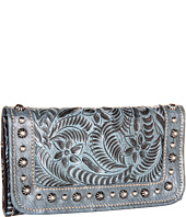 American West - Forget-Me-Not Tri-Fold Wallet