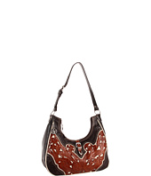American West - Annie's Secret Scoop Shoulder Bag - Hand Tooled
