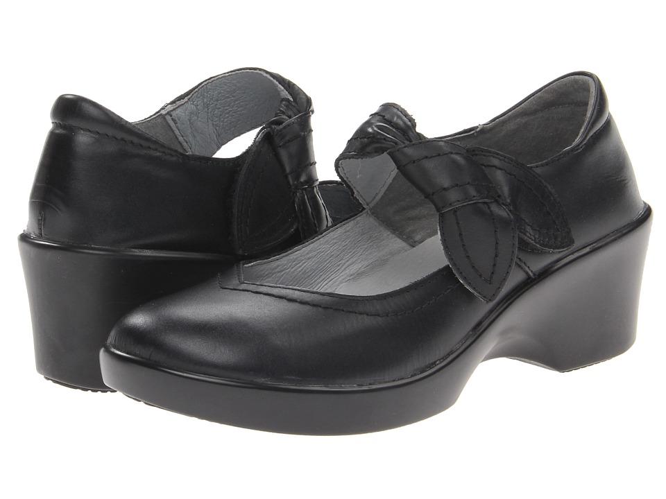 Alegria Ella (Black Nappa Leather) Women