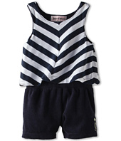 Juicy Couture Kids - Chevron Tank Romper (Infant)
